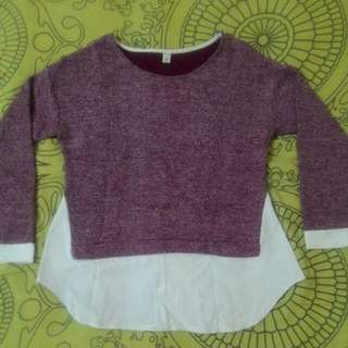 RESERVED knitted blouse (inc. postage)