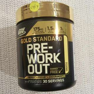 ON Pre-workout