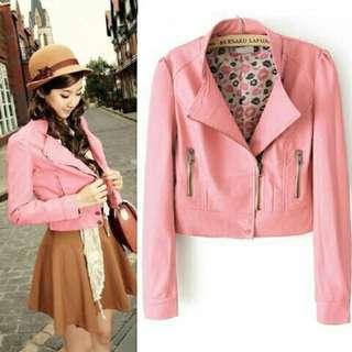 Yumi Peach Jacket -