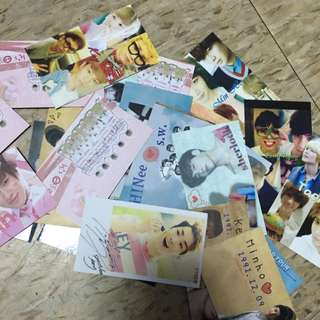 SJ SHINee 各種小卡