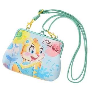 迪士尼 日本帶回 超實用小包 奇奇蒂蒂 女朋友 黃兔子