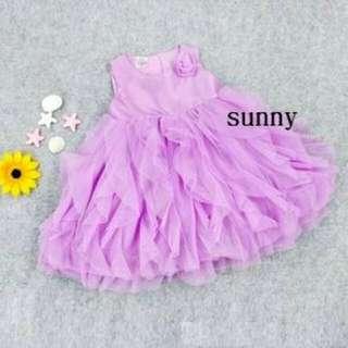 🚚 紫色夢幻洋裝禮服