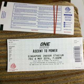 Ticket One Championship (silver Ticket)