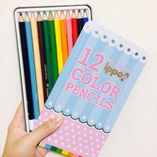 12色色鉛筆