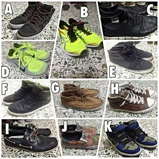 Selling My Used Shoes [BIG DISCOUNT] all nego