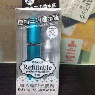 全新未拆封 補充式香水瓶 refillable perfume atomizer 5ML