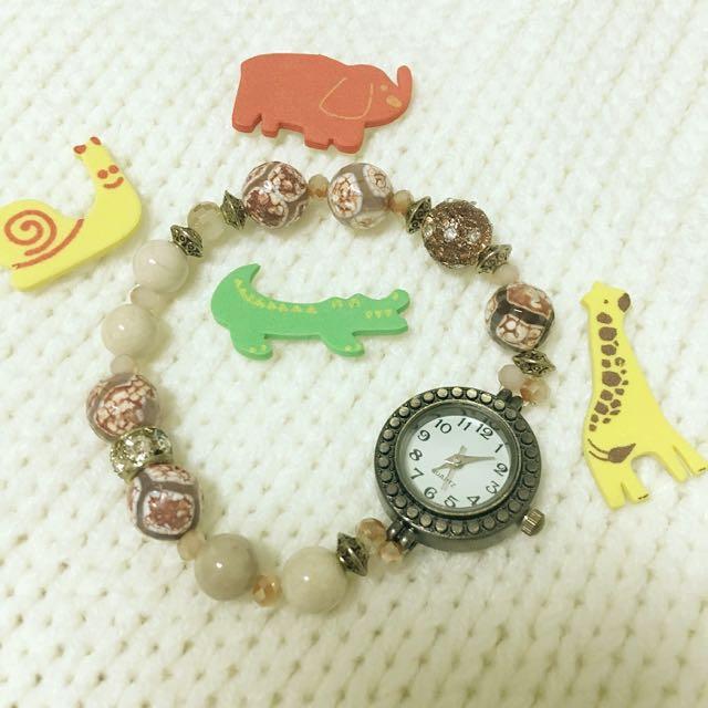 復古羅馬手鍊造型手錶