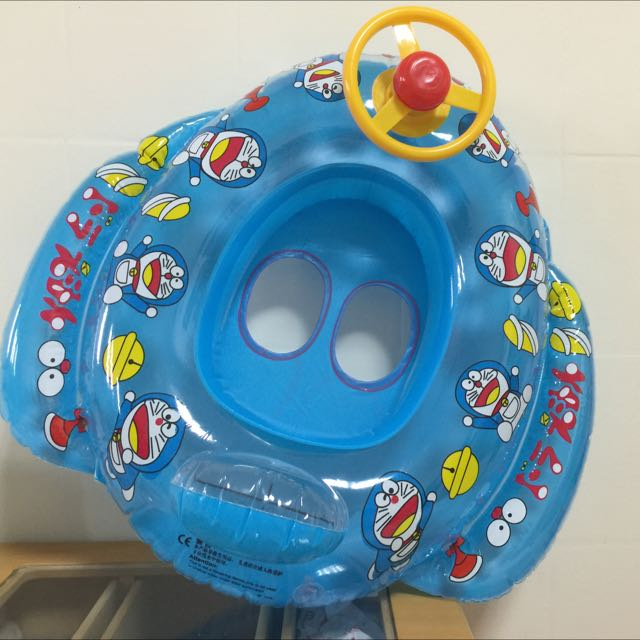 小叮噹方向盤兒童游泳圈