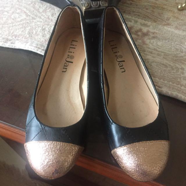 再降300✨鞋控收藏✨ Lili Jan 真皮 芭蕾舞平底鞋