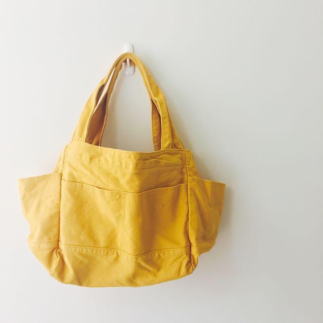 ✨[降價]日本 Zootie厚帆布托特包