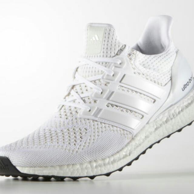 29f06003bcd9f Adidas Ultra Boost Triple White S77416 US 11.5
