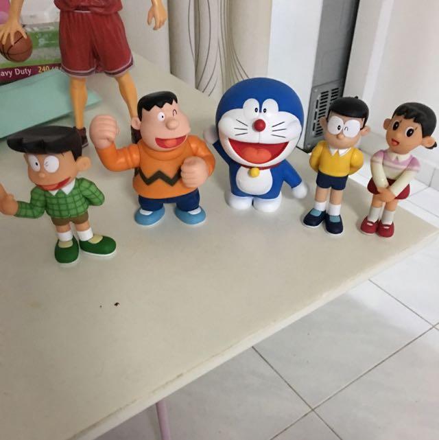 Doraemon Figurine Set Of 5