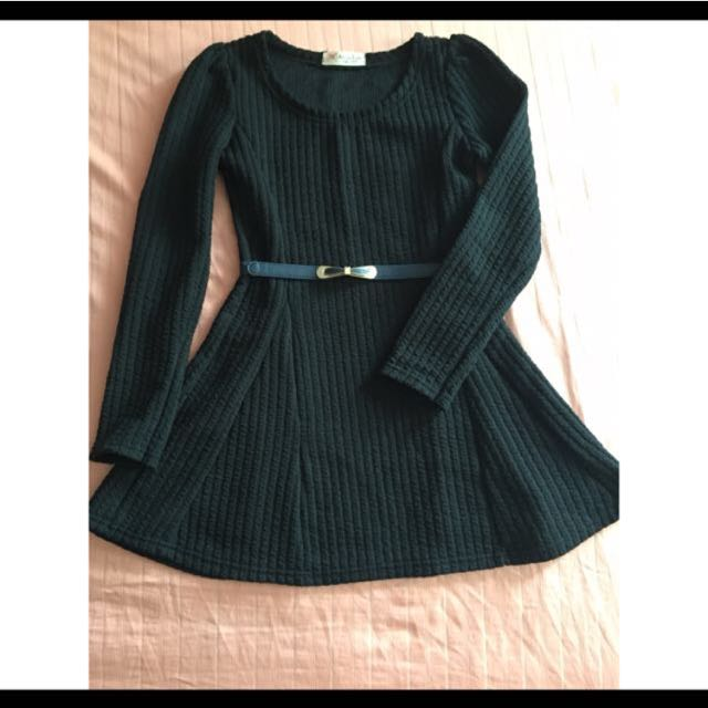 Great Quality Knitted Long Sleeve Dress