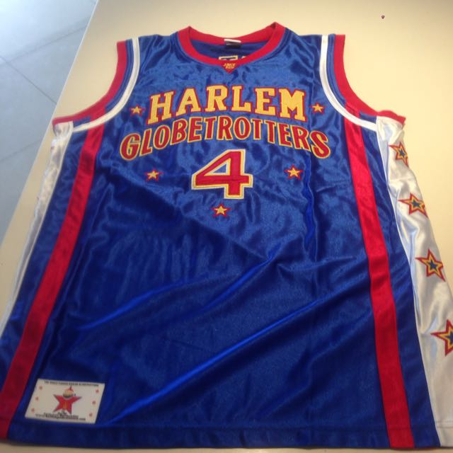 Harlem Globetrotters Flight Time Jersey: Limited Edition & Signed