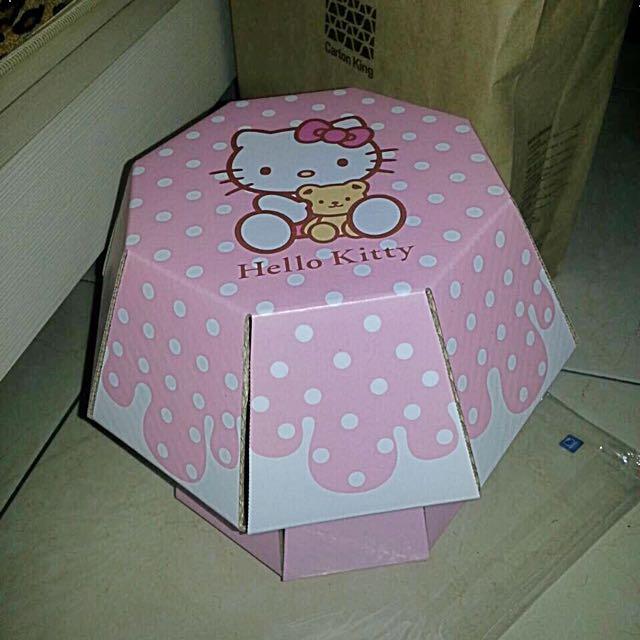 Hello Kitty木板椅