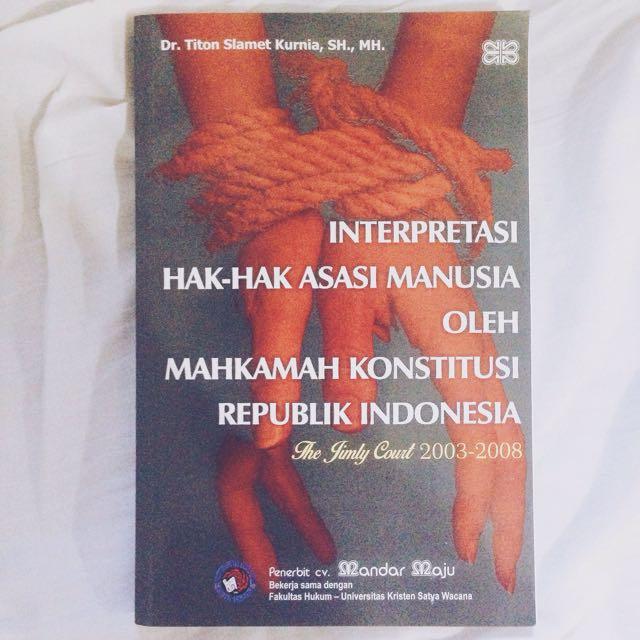 interpretasi ham oleh mk di indonesia
