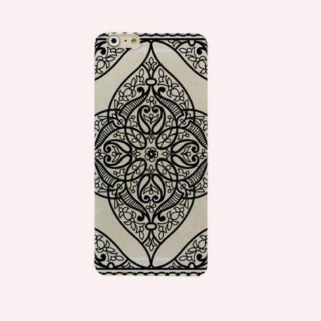iPhone Case Black Pattern 4S 5 5S 5C 6 & 6 Plus