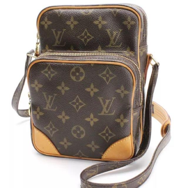 bda423ada9d7 Louis Vuitton Amazon Monogram Sling bag