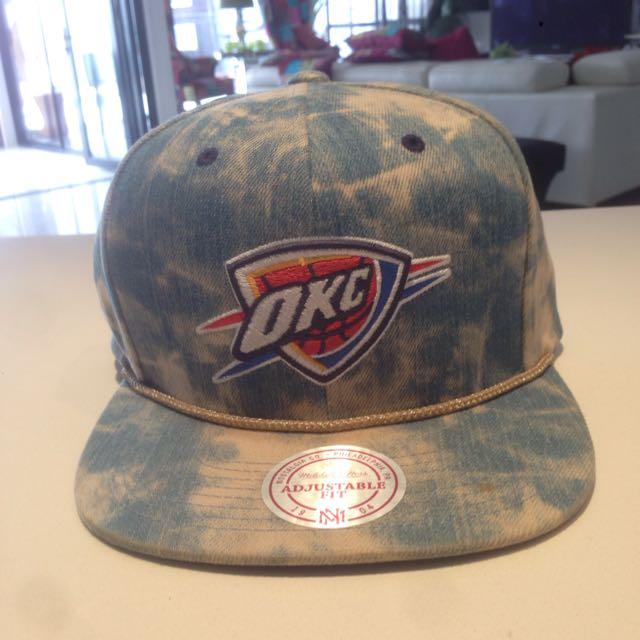 Mitchell & Ness OKC Hat