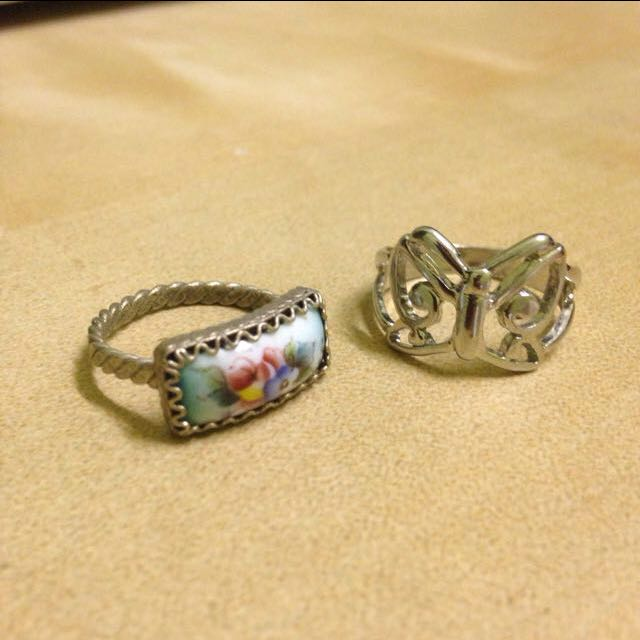 NEW Vintage & Butterfly Rings