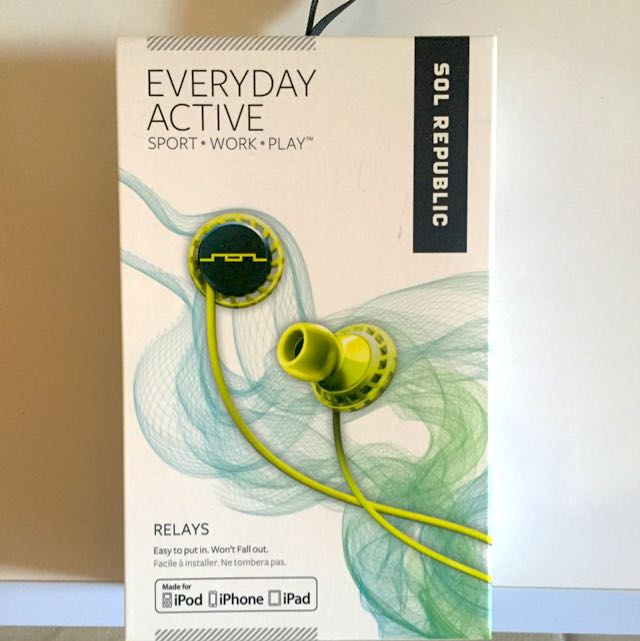 Sol Republic Everyday Active Headphones