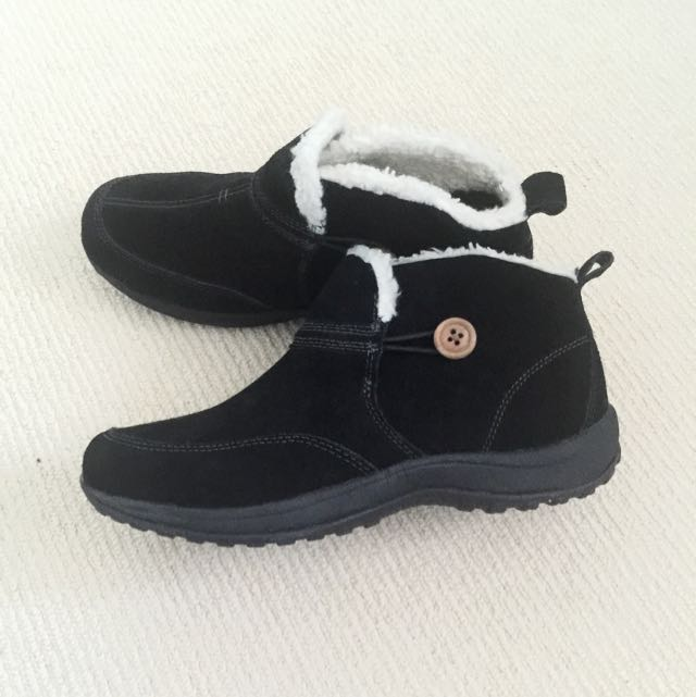 Suede Winter Boots