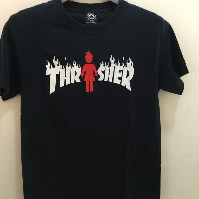 Thrasher. 深藍T