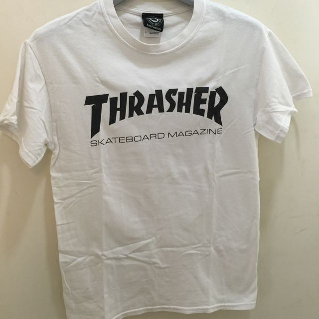 Thrasher 白T