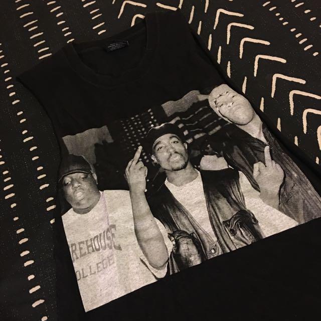 Tupac, Biggie And Dre Tank Size Small