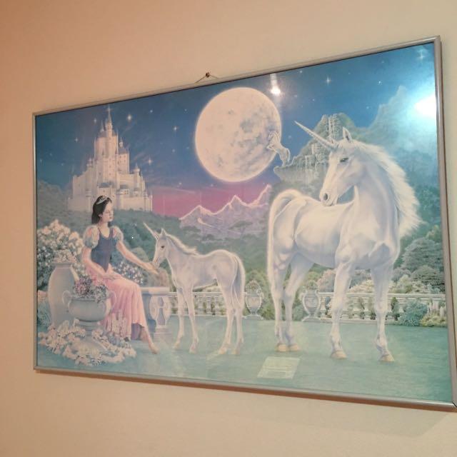 Unicorn Princess Wall Poster