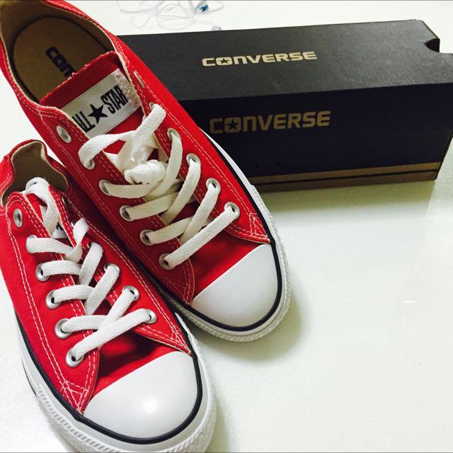 18197b9a858699 Converse M9696 All Star Ox RED