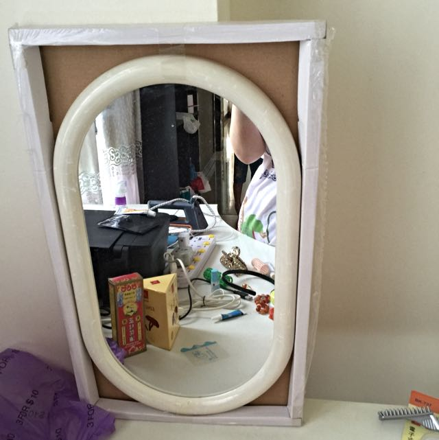 RESERVED: Wall Mirror 3 Pcs - Selling At Cheap Price - Moving Out