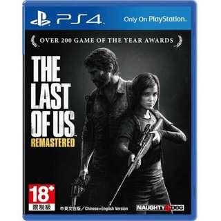 最後生還者 PS4