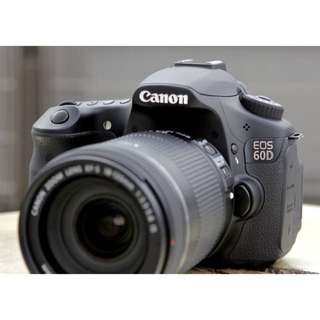 Canon 60d With 3rd Party Battery Grip (Body Only)