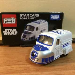 R2D2 星際大戰 Star War 迪士尼 Disney系列 多美 Tomica 小汽車  Tomy Takara