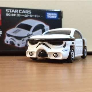 白武士 星際大戰 Star War 迪士尼 Disney系列 多美 Tomica 小汽車  Tomy Takara