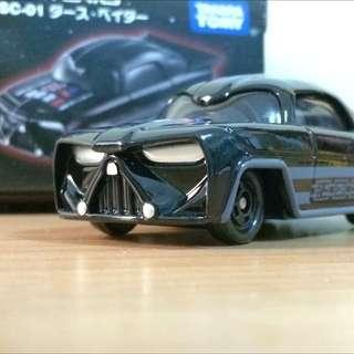 黑武士 星際大戰 Star War 迪士尼 Disney系列 多美 Tomica 小汽車  Tomy Takara