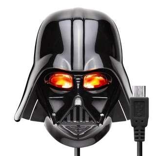 日本購買-星際大戰 黑武士 Android 安卓系統 充電器 Disney 迪士尼 Star War 旅充