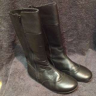 Clarks Leather Boots Sz34