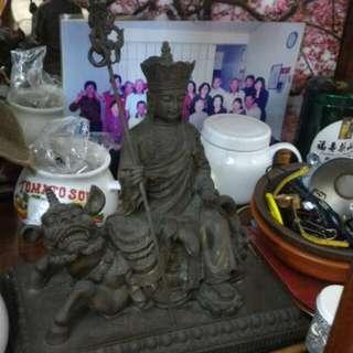 地藏王菩薩銅像