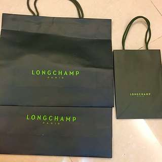 Longchamp 大袋2 小袋1