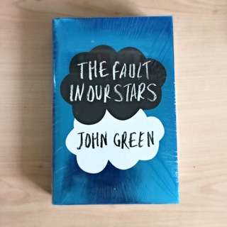 BRAND NEW -- The Fault In Our Stars - John Green
