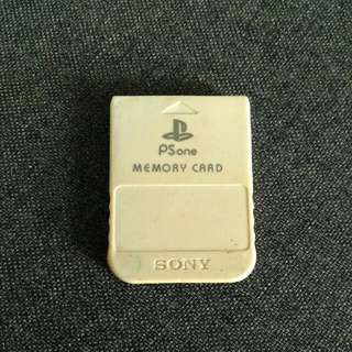 PS One Memory Card
