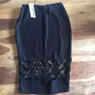 ON HOLD - Paper Scissors Black Skirt - Size S - BNWT