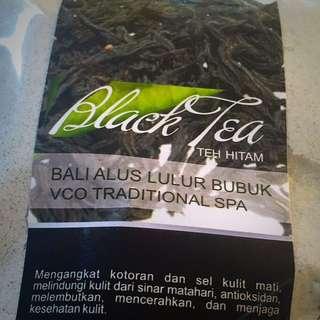 Black Tea Scrub Powder Bali Alus