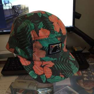 The Hundreds 5 Panel Floral Cap