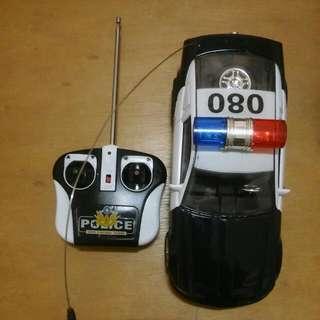 警車遙控汽車