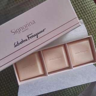 Salvatore ferragamo Parfum Soap Kit 3x50gr