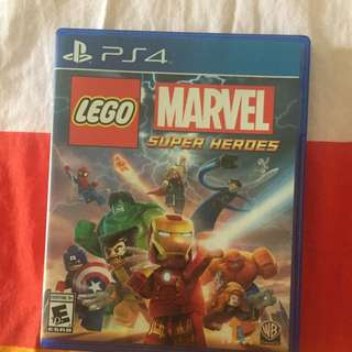 (RESERVE)ps4 lego marvels