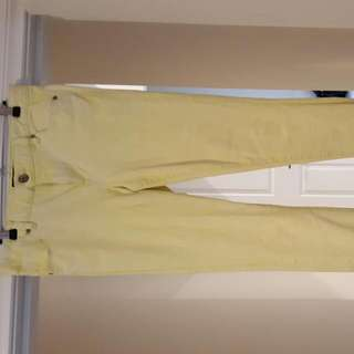 Just Jeans Yellow Size 11